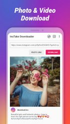screenshot of instake.repost.instagramphotodownloader.instagramvideodownloader