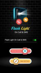 screenshot of kcreative.flashlightoncallsms.flash.light