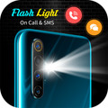 Flashlight on Call and SMS- Flash Alert 1.0