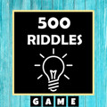 500 Best Riddles (Brain Puzzles) Quiz Game 2020 2.9