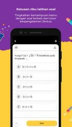 screenshot of net.zenius.mobile