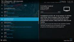 screenshot of org.xbmc.kodi