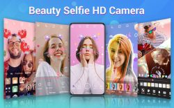 screenshot of photo.beauty.sticker.ar.camera