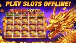 screenshot of slots.hot.vegas.casino.games.free
