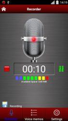 screenshot of com.app.studio.voicerecord