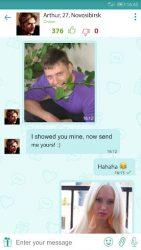 screenshot of com.friendsdatechat.flirtogram