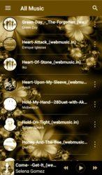 screenshot of com.gwthao.hiiimusicplayer