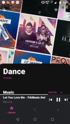 screenshot of com.mymusic.musicplayer