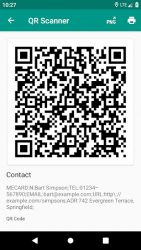 screenshot of com.teacapps.barcodescanner
