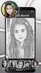 screenshot of pencilphotosketch.drawingphotoeditor.photosketchmaker.sketchcamera.sketcharteffect