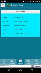 screenshot of srinidhi.bullion.price